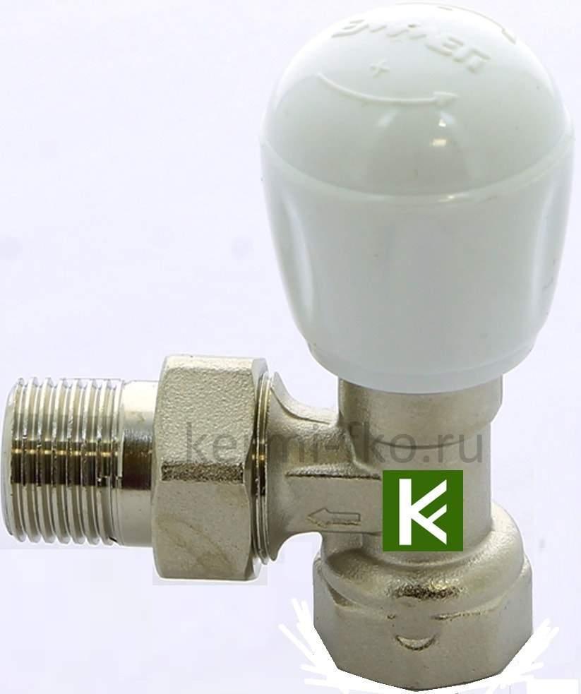 01350320 Emmeti вентильный кран ручной для радиаторов отопления