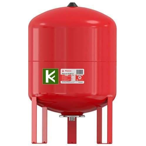 Баки Flamco FLEXCON R 35-80 литров для отопления (Фламко)