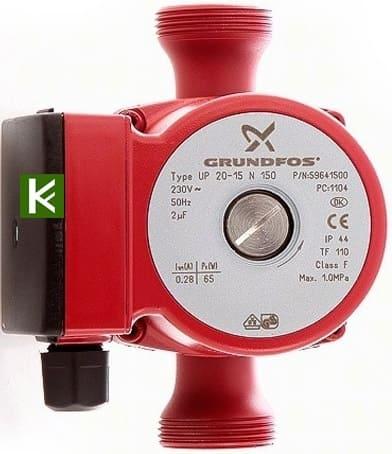 рециркуляция нержавейка насос Грундфос 59641500 Grundfos UP 20-15 N