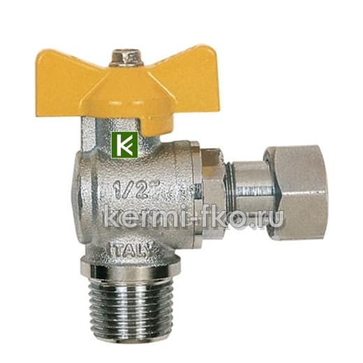 Кран шаровой для газа Itap BERLIN 062 (шаровые краны Итап)