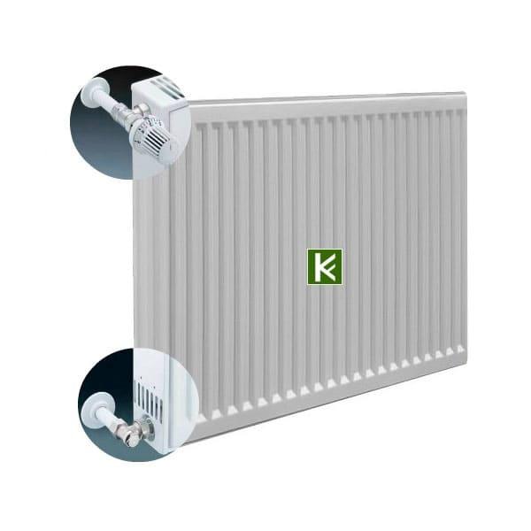 Радиаторы отопления Kermi FKO с боковым подключением, радиатор Керми