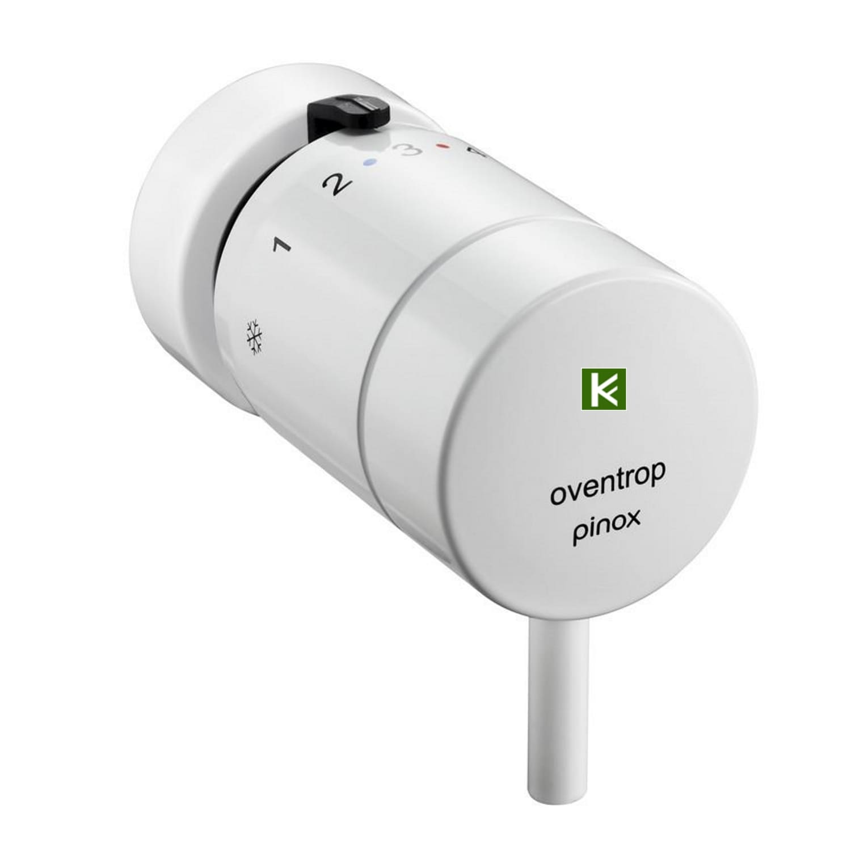 терморегулятор Oventrop pinox H белый 1012166