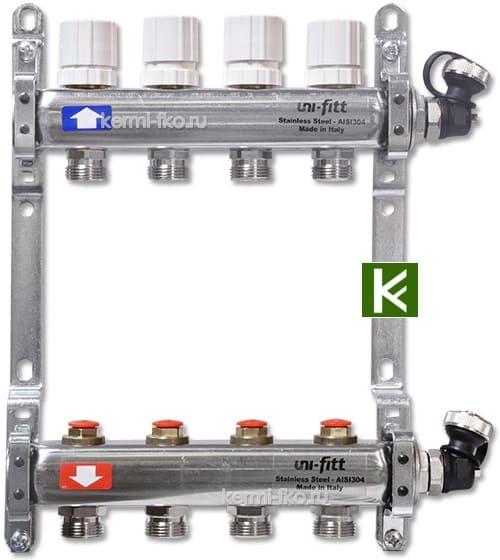 Коллекторы Uni-Fitt для радиаторов отопления (коллектор Юнифит)