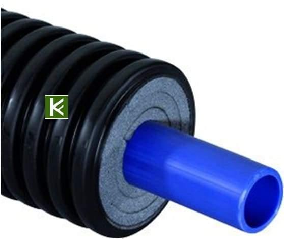 Теплоизолированная труба Uponor Ecoflex Supra - теплотрасса Упонор