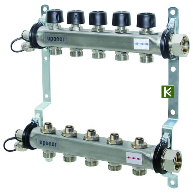 Коллекторы Uponor для радиаторов отопления (коллектор Упонор)