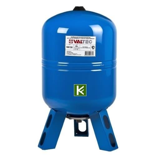 баки гидроаккумуляторы Valtec (Валтек) для водоснабжения на ножках