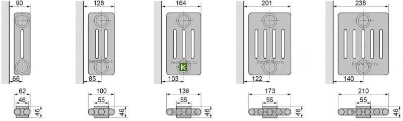 батареи Зендер купить радиаторы Zehnder Completto цена в Москве