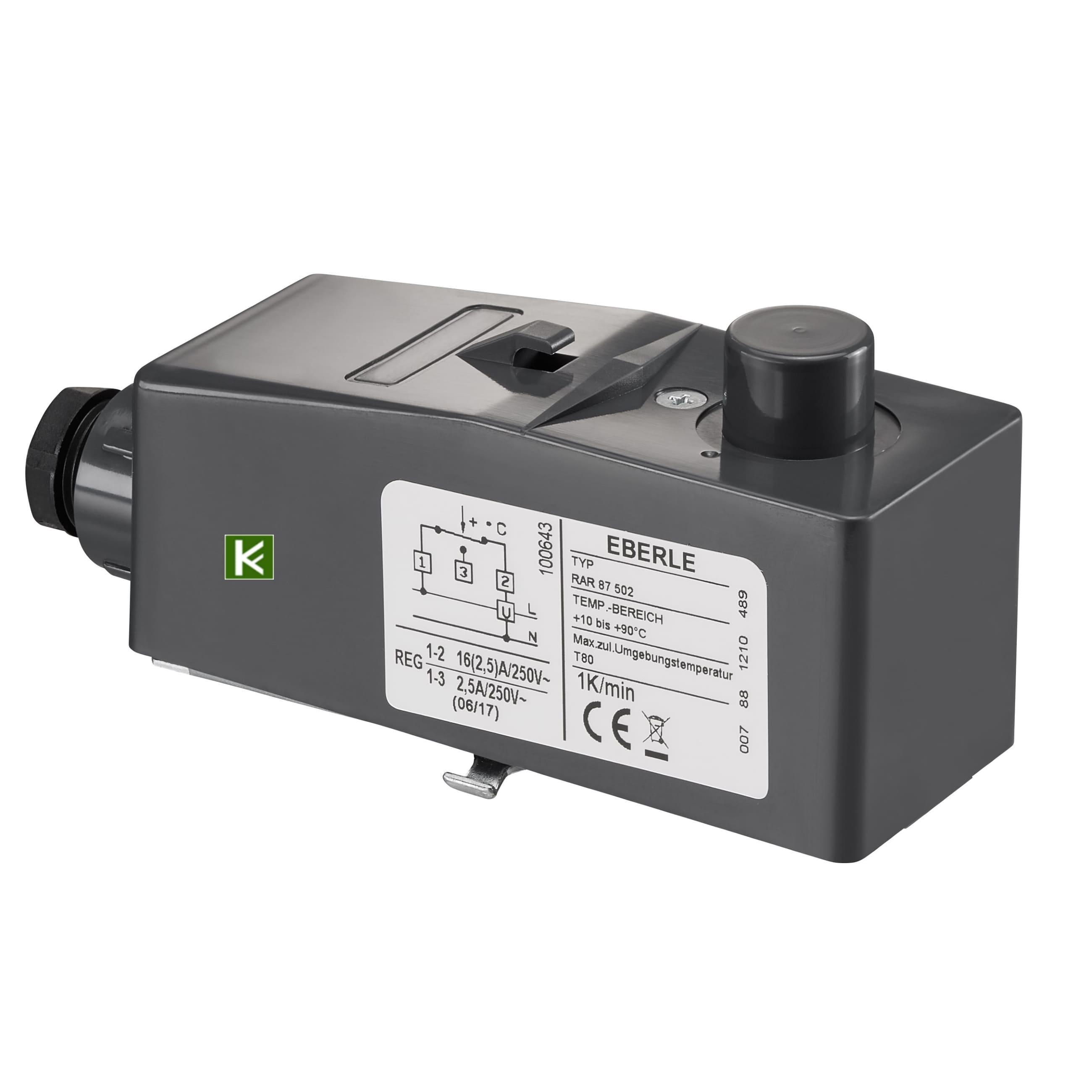 1143000 Электрический накладной регулятор Oventrop
