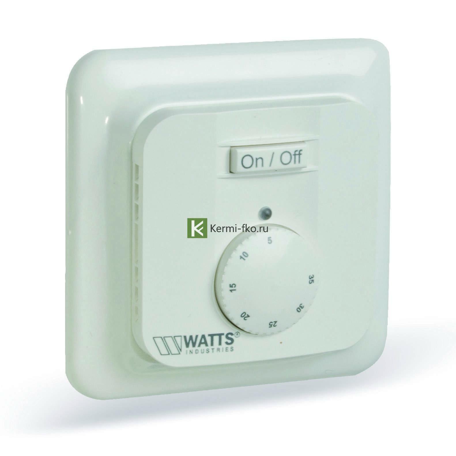 Термостат Watts 10013393 - автоматика Ваттс для водяного теплого пола