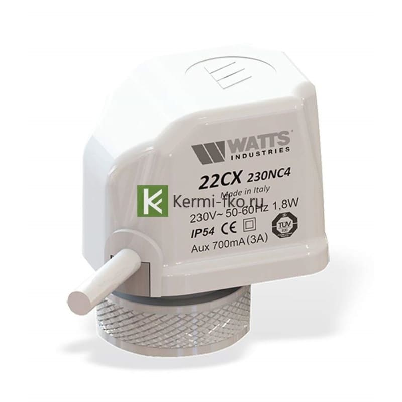 сервопривод Watts 10050334 - автоматика для водяного теплого пола Ваттс