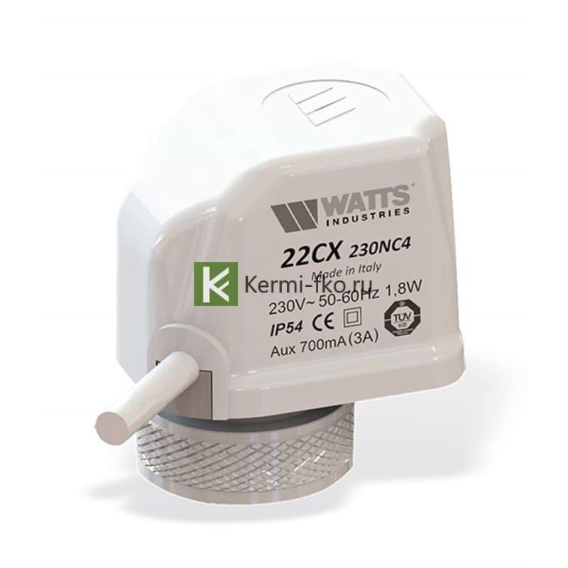 сервопривод Watts 10050335 - автоматика для водяного теплого пола Ваттс