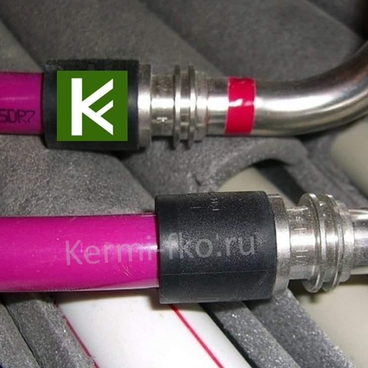 Трубы для водяного теплого пола Rehau Pink (труба Рехау Пинк)