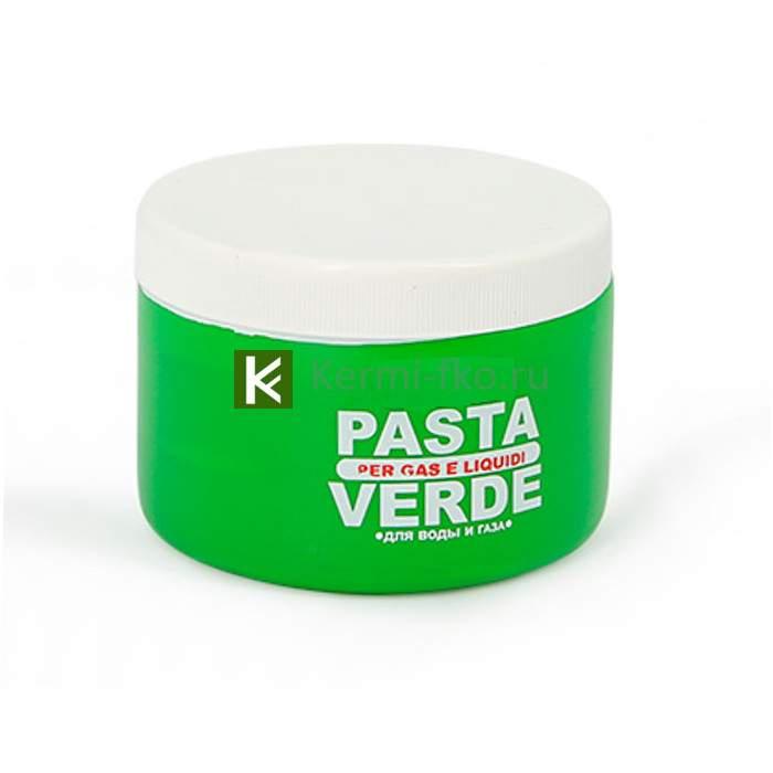 Паста-герметик для льна 460гр Uni-Fitt 693L1460 Verde (зеленая)
