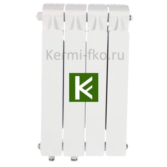 Рифар Монолит Вентил RM35004НЛ Радиатор RIFAR Monolit Ventil 350 4 секции, левое, MVL