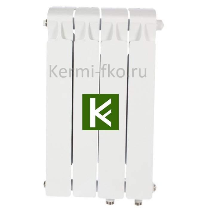 Рифар Монолит Вентил RM35004НП Радиатор RIFAR Monolit Ventil 350 4 секции, правое, MVR