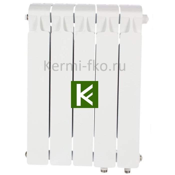 Рифар Монолит Вентиль RM35005НП Радиатор Rifar Monolit Ventil 350 5 секций