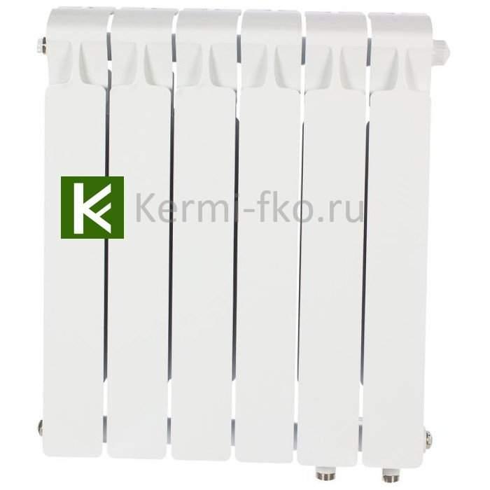 Рифар Монолит Вентил RM35006НП Радиатор RIFAR Monolit Ventil 350 6 секций, правое, MVR