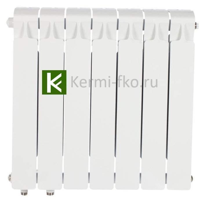 Рифар Монолит Вентиль RM35007НЛ Радиатор Rifar Monolit Ventil 350 7 секций