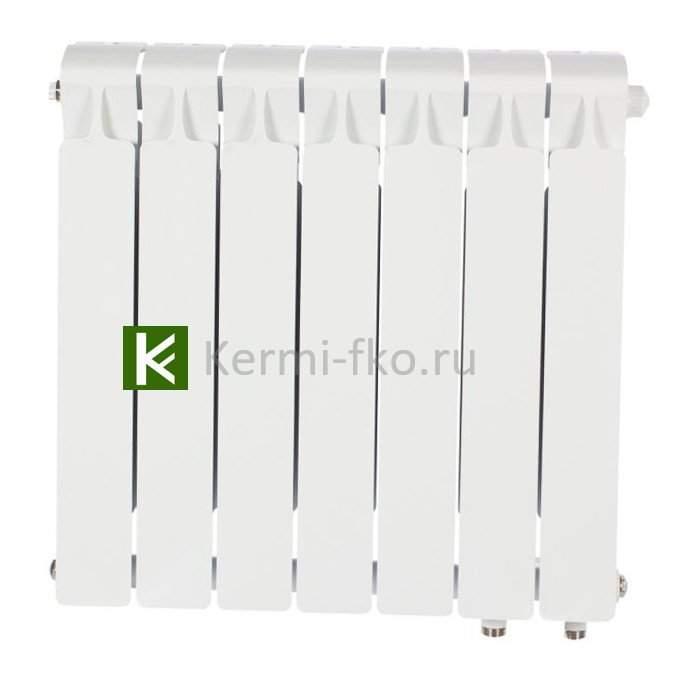 Рифар Монолит Вентиль RM35007НП Радиатор Rifar Monolit Ventil 350 7 секций