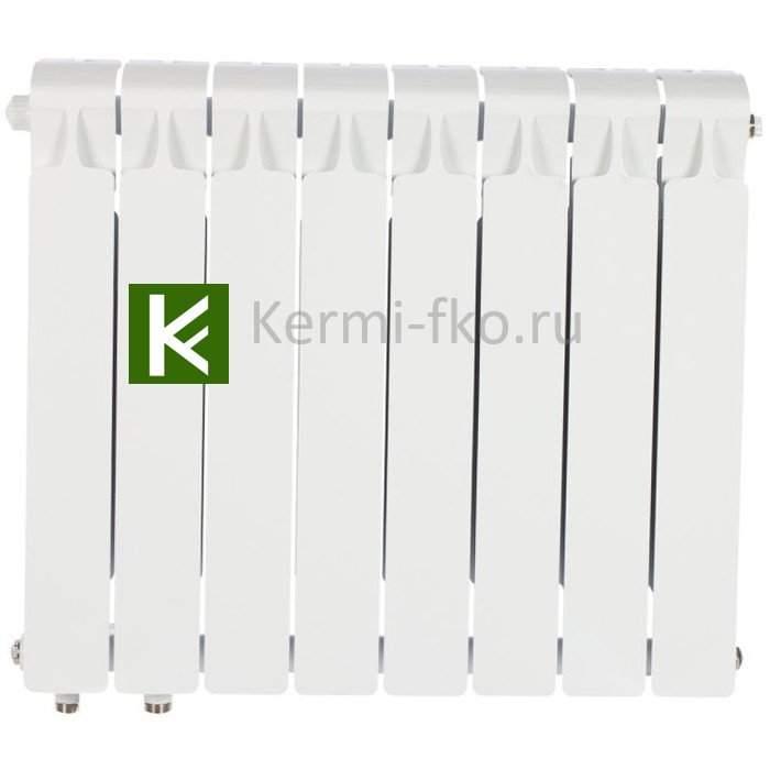 Рифар Монолит Вентил RM35008НЛ Радиатор RIFAR Monolit Ventil 350 8 секций, левое, MVL