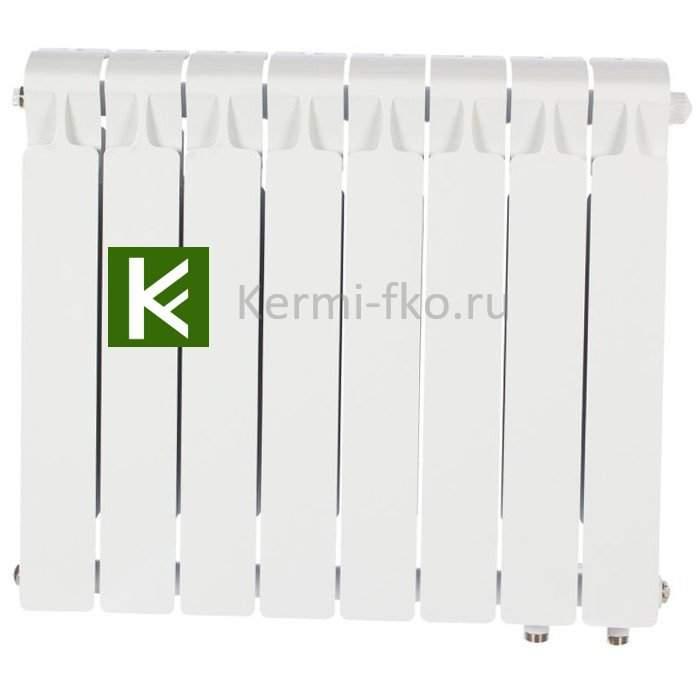 Рифар Монолит Вентил RM35008НП Радиатор RIFAR Monolit Ventil 350 8 секций, правое, MVR