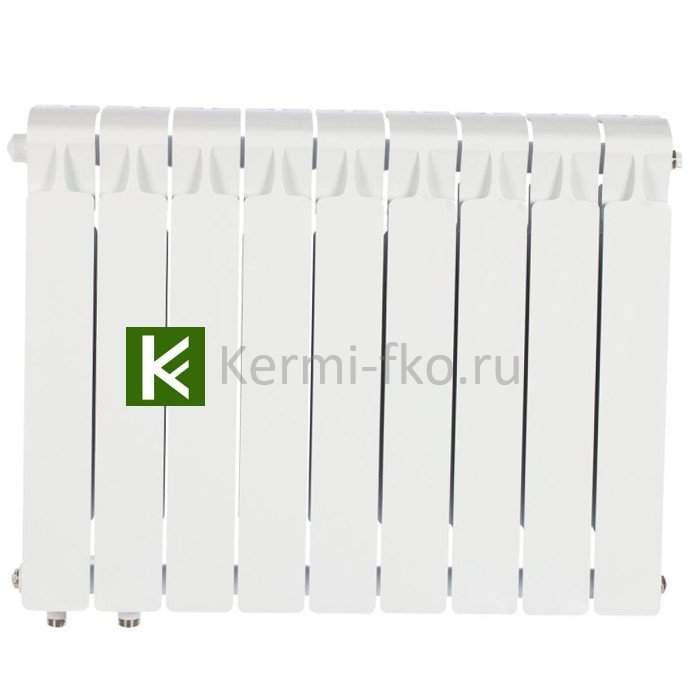 Рифар Монолит Вентиль RM35009НЛ Радиатор Rifar Monolit Ventil 350 9 секций