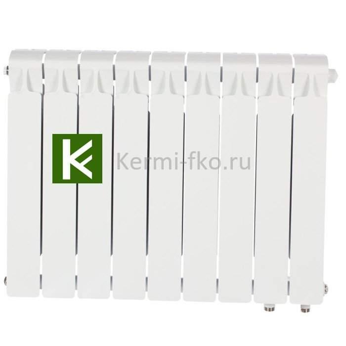 Рифар Монолит Вентиль RM35009НП Радиатор Rifar Monolit Ventil 350 9 секций