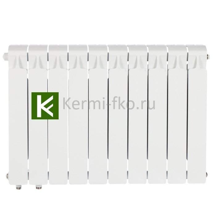 Рифар Монолит Вентил RM35010НЛ Радиатор RIFAR Monolit Ventil 350 10 секций, левое, MVL