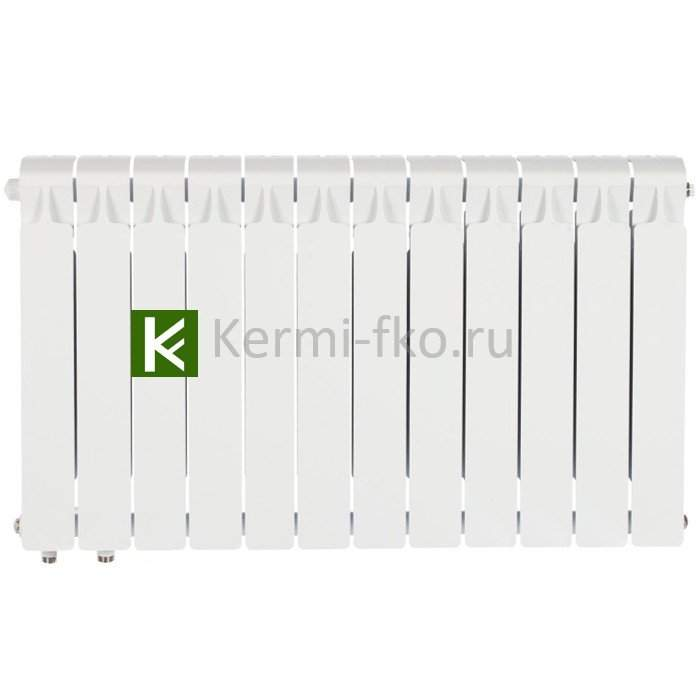 Рифар Монолит Вентил RM35012НЛ Радиатор RIFAR Monolit Ventil 350 12 секций, левое, MVL