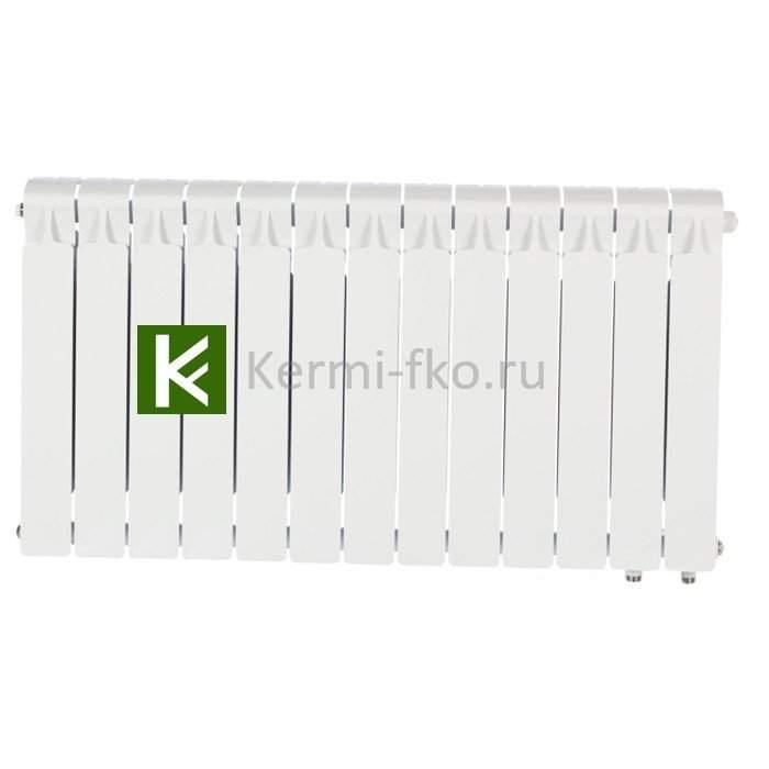 Рифар Монолит Вентиль RM35013НП Радиатор Rifar Monolit Ventil 350 13 секций