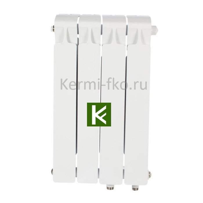 Рифар Монолит Вентил RM50004НП Радиатор RIFAR Monolit Ventil 500 4 секции, правое, MVR