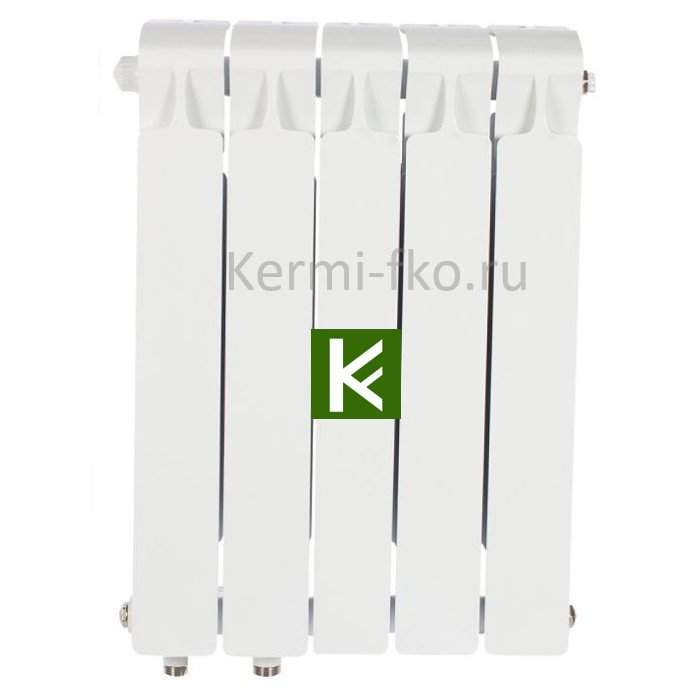 Рифар Монолит Вентиль RM50005НЛ Радиатор Rifar Monolit Ventil 500 5 секций