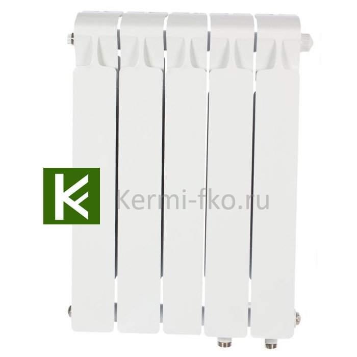 Рифар Монолит Вентиль RM50005НП Радиатор Rifar Monolit Ventil 500 5 секций