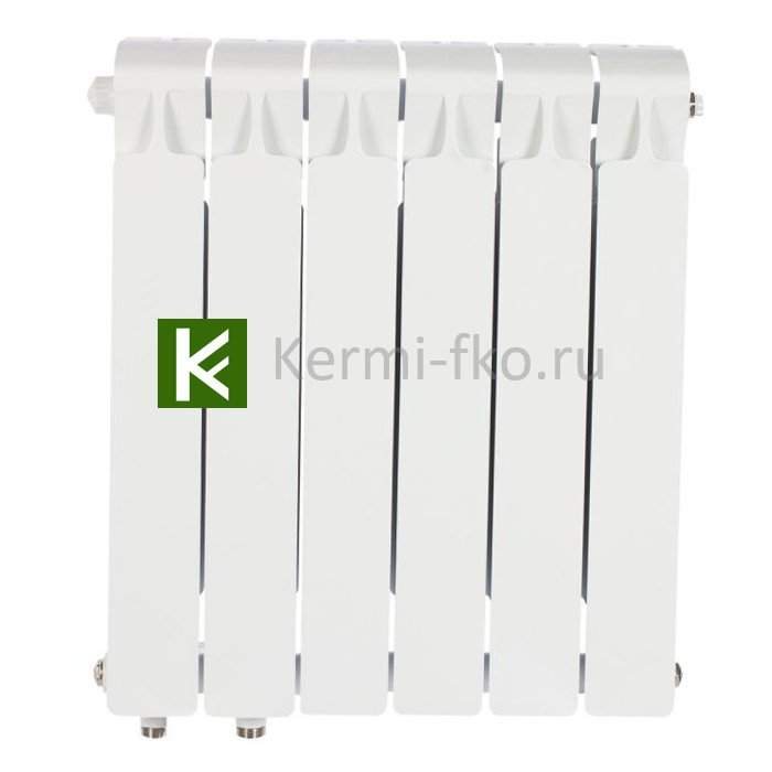 Рифар Монолит Вентил RM50006НЛ Радиатор RIFAR Monolit Ventil 500 6 секций, левое, MVL