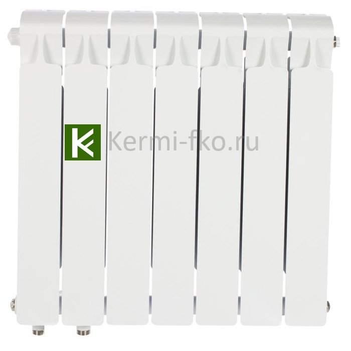 Рифар Монолит Вентиль RM50007НЛ Радиатор Rifar Monolit Ventil 500 7 секций