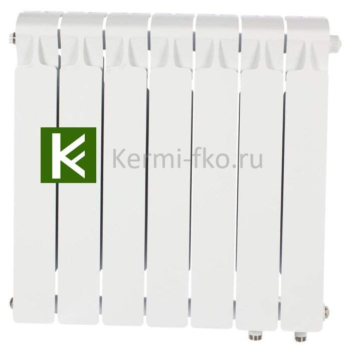 Рифар Монолит Вентиль RM50007НП Радиатор Rifar Monolit Ventil 500 7 секций