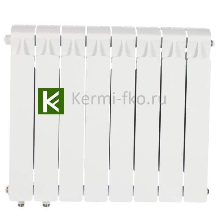Рифар Монолит Вентил RM50008НЛ Радиатор RIFAR Monolit Ventil 500 8 секций, левое, MVL