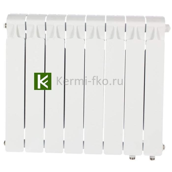 Рифар Монолит Вентил RM50008НП Радиатор RIFAR Monolit Ventil 500 8 секций, правое, MVR