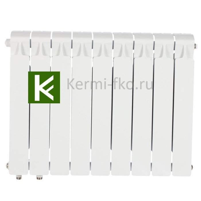 Рифар Монолит Вентиль RM50009НЛ Радиатор Rifar Monolit Ventil 500 9 секций