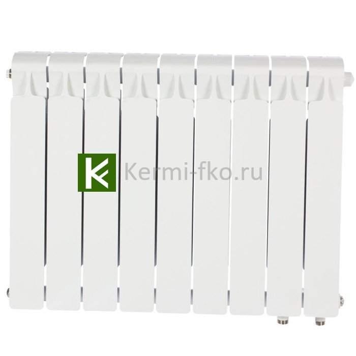 Рифар Монолит Вентиль RM50009НП Радиатор Rifar Monolit Ventil 500 9 секций