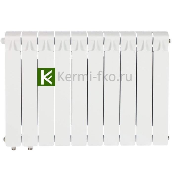 Рифар Монолит Вентил RM50010НЛ Радиатор RIFAR Monolit Ventil 500 10 секций, левое, MVL