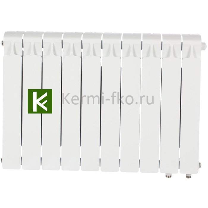 Рифар Монолит Вентил RM50010НП Радиатор RIFAR Monolit Ventil 500 10 секций, правое, MVR