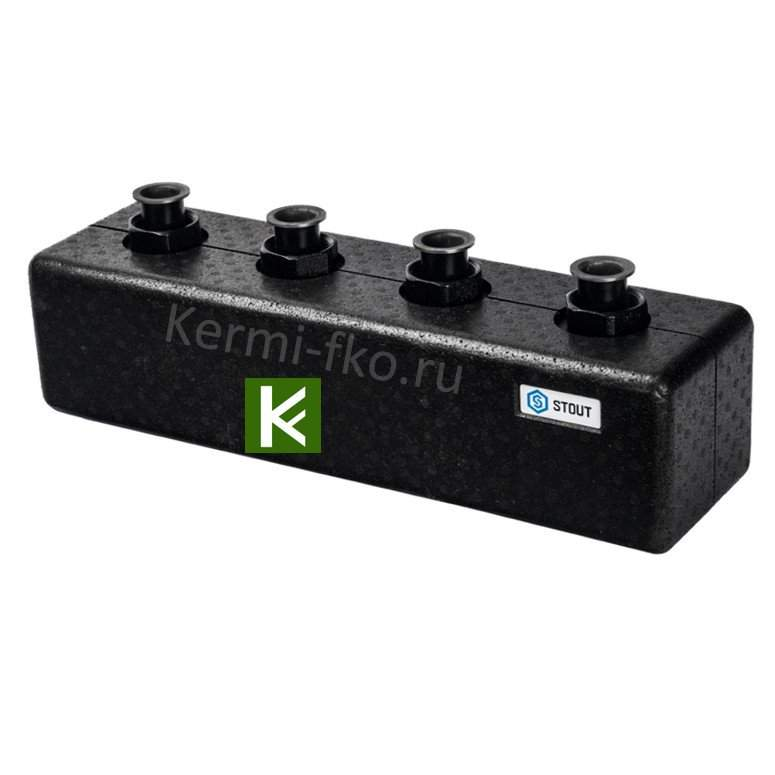 Распределительный коллектор STOUT SDG-0017-004023 для отопления (гребенки Стаут)