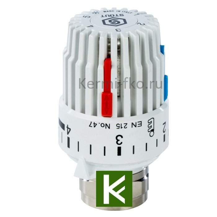 Терморегулятор Stout для радиаторов отопления