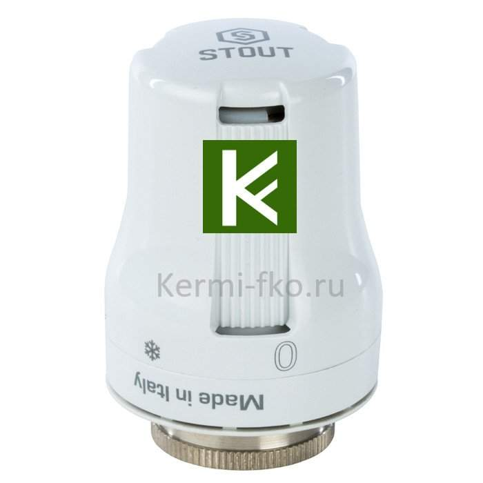 Терморегулятор для радиаторов отопления Stout