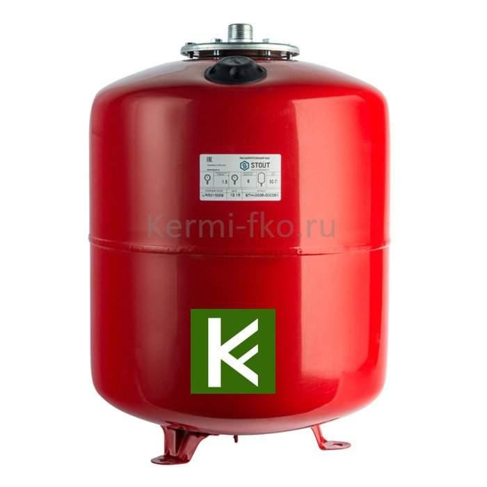 Расширительные баки STOUT для отопления на опорах (Стаут)
