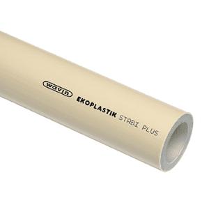 Полипропиленовые трубы Wavin Ekoplastik STABI PLUS - труба Экопластик армированная алюминием
