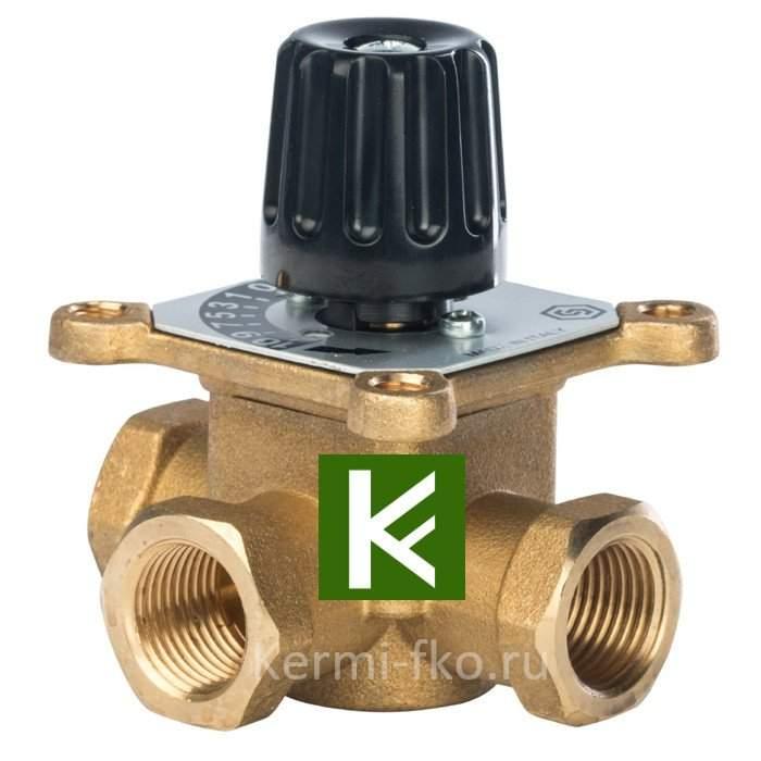 Трехходовой смесительный клапан Stout термосмесительный клапан Стаут 1/2