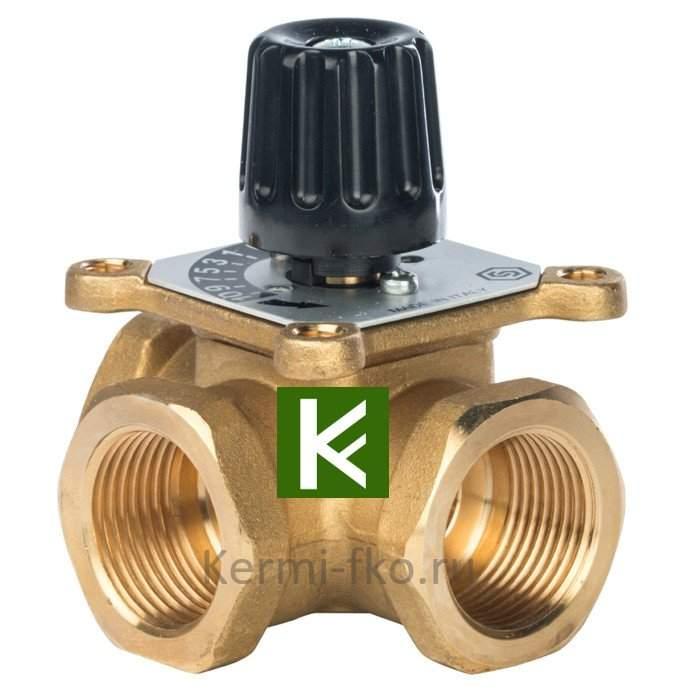 Трехходовой смесительный клапан Stout термосмесительный клапан Стаут 1