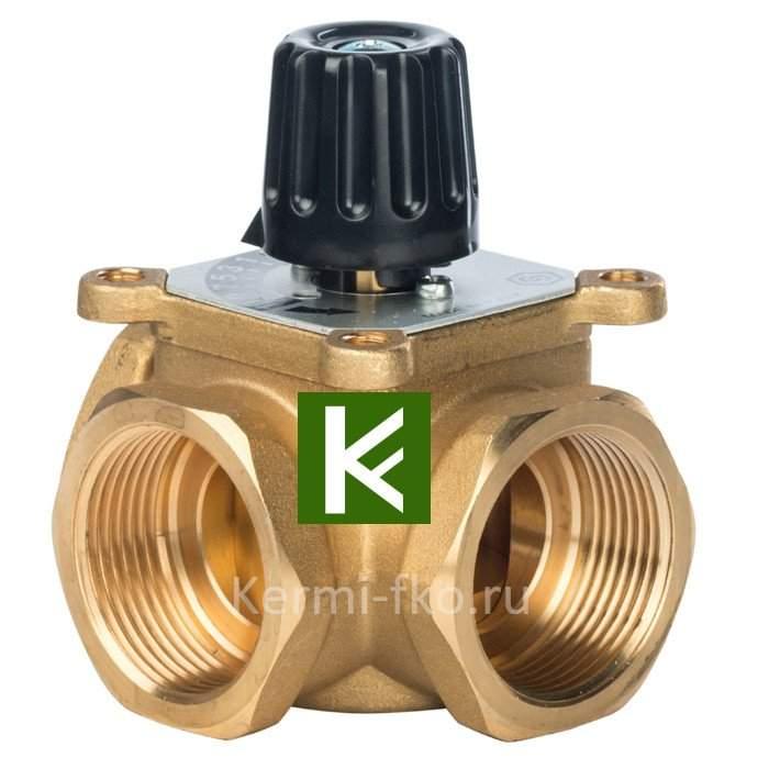 Трехходовой смесительный клапан Stout термосмесительный клапан Стаут 1 1/4